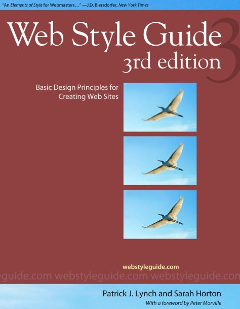 Web Style Guide book cover