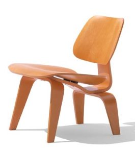Photo of Eames Molded Plywood Chair